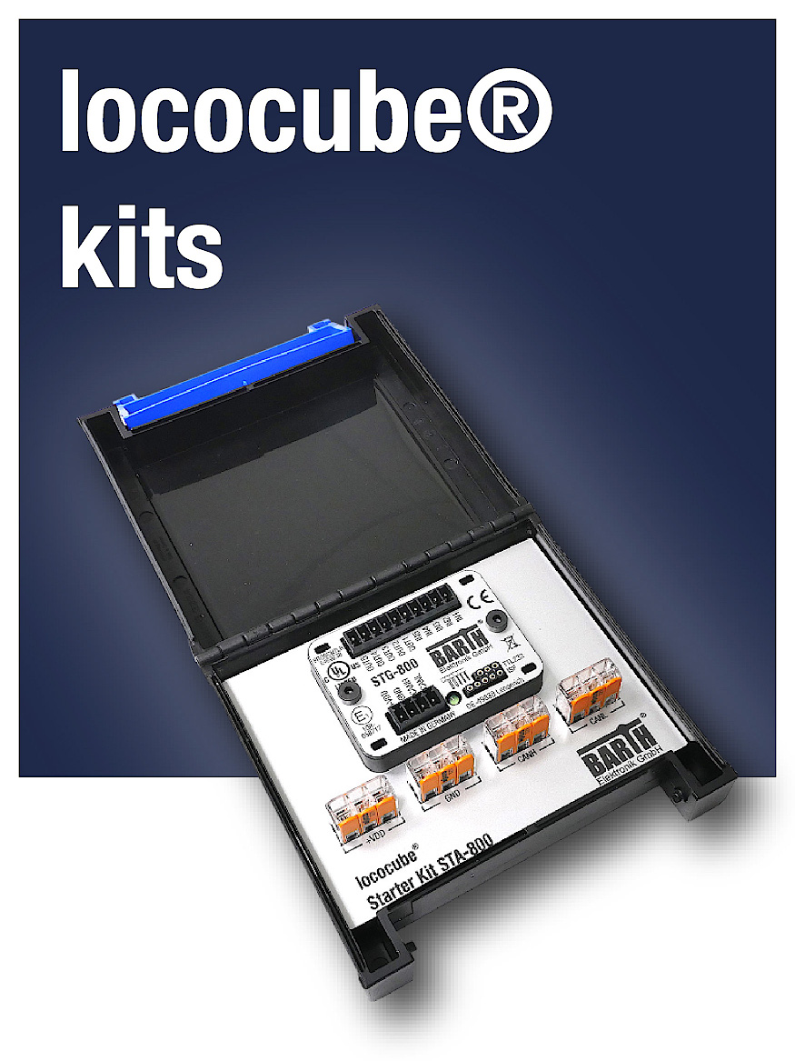 starter kits with lococube® mini-PLC